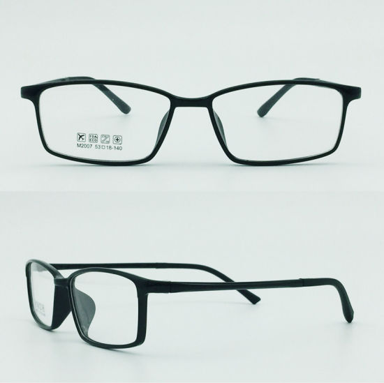 Factory Stock Super Light Half Plastic Steel Fashion New Design Optical Frames pictures & photos
