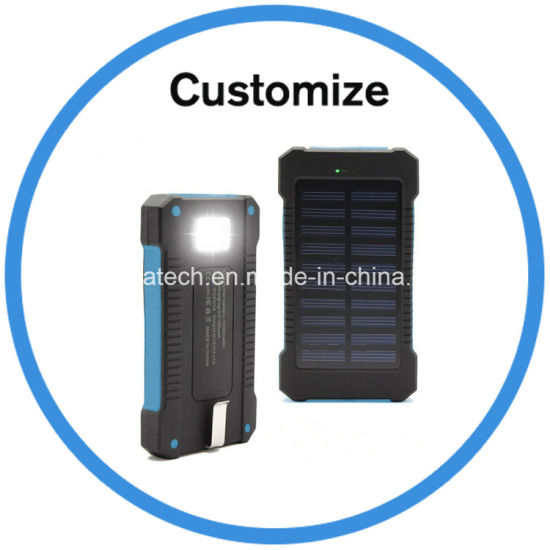 Solar Charger with LED Light pictures & photos