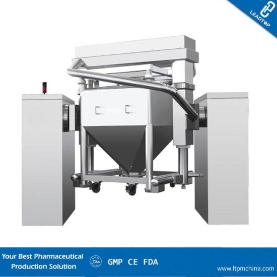 High Speed Lifted Mixer Machine