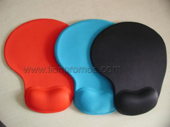 Office Gift Silicone Gel Wrist Rest Mouse Pad