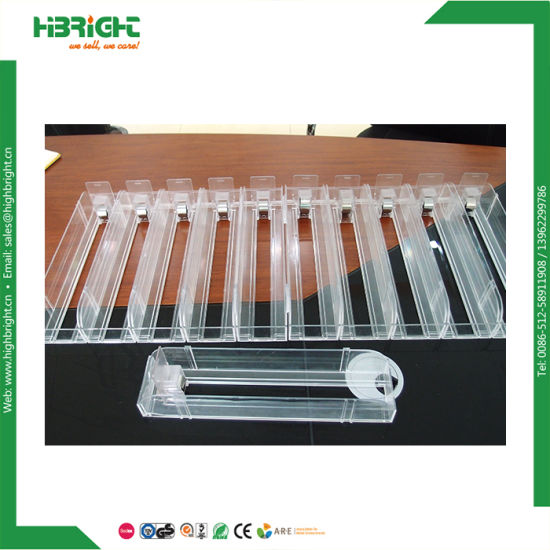 Shelf Pusher System Plastic Shelf Pusher for Cans pictures & photos