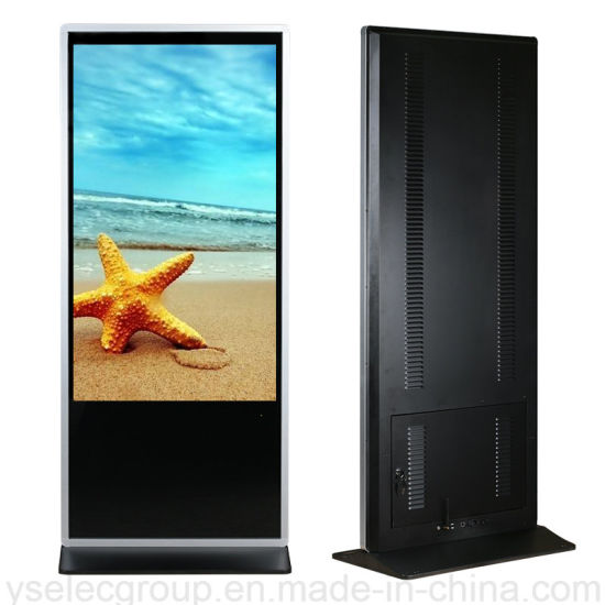 "Yashi 55"" Shopping Mall Vertical Touch Screen Andriod Full HD LCD Digital Display pictures & photos"