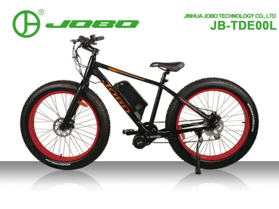 Fat Tire Bike Electric Fat Bike Bafang 350W MID Drive Motor pictures & photos