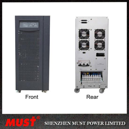 Eh5000 Online UPS 20kVA 16kw 3pH Input 1pH Output IGBT Technology