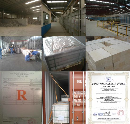 Fused Cast Alpha-Beta Al2O3 Refractory Brick pictures & photos