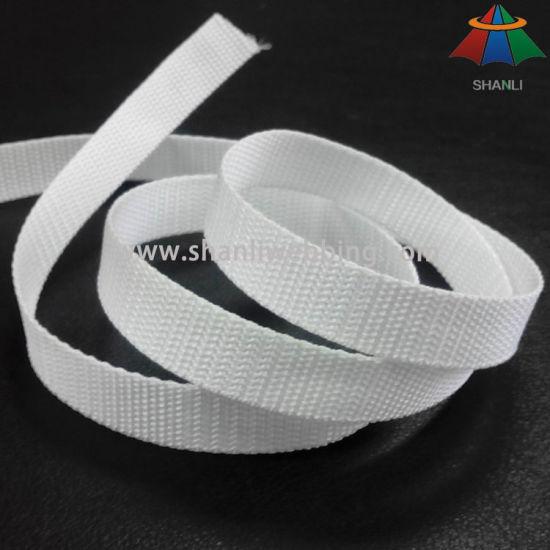 Wholesale 3/4 Inch White Lightweight Polypropylene Webbing