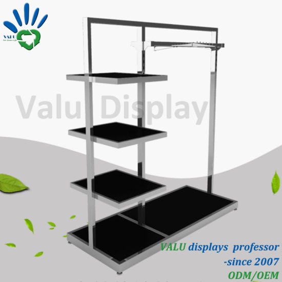 dc59ee3a9b Wholesale Stainless Steel Clothes Metal Display Stand Garment Racks for Sale
