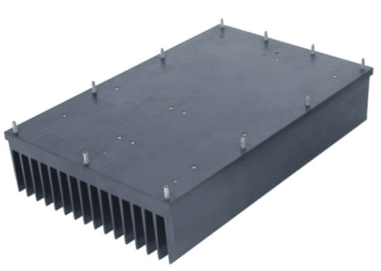 High Power Aluminum Heat Sinks for Hospital Medical Equipment pictures & photos