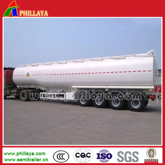 46000liters Oil Tanker Truck Semi Trailer Steel Metal Fuel Tank pictures & photos