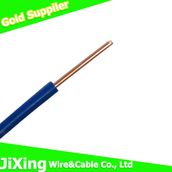 China BV 2.5sqmm Electric Wire Single Solid Copper Wire - China ...