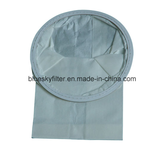 White Paper Dust Filter Bag for Vacuum Cleaner pictures & photos