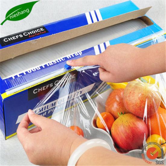 Biodegradable Food Wrap PE Cling Plastic Wrap Film