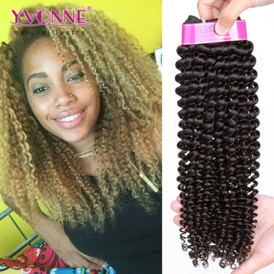 Kinky Curly Brazilian Virgin Human Hair Extension
