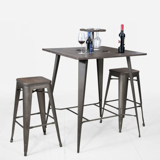 Metal Industrial Tolix Table and Chair, Antique, Replica - China Metal Industrial Tolix Table And Chair, Antique, Replica