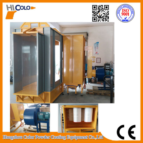 Electrostatic Powder Paint Spray Booth of Malaysia pictures & photos
