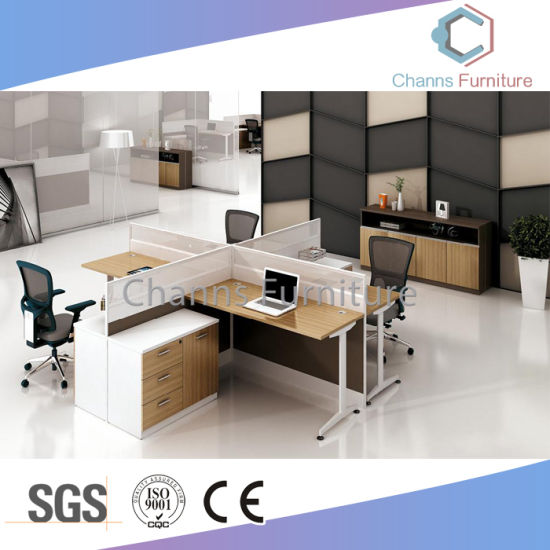 Modular Office Furniture Wooden Staff Table Office Cubicle (CAS W31468)