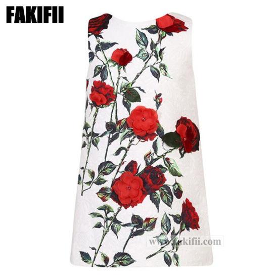 c4cc04a6623e Fashion Kids 3D Flower Dress for Children´ S Clothing Girl Brand Dress
