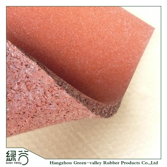 500*500mm Wholesale Outdoor Safety Rubber Flooring for Playground Tiles