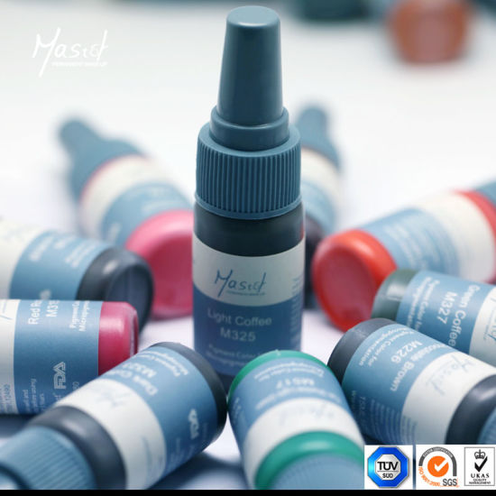 Factory Supply OEM Service Semi Permanent Makeup Tattoo Ink pictures & photos