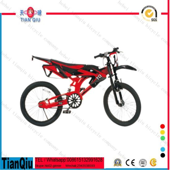 China New Model 4 Wheel Kid Ride on Bicycle Motorcycle Children Motor Style Bicycle for Sale pictures & photos
