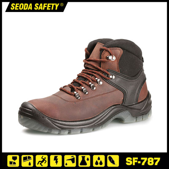 Anti Slip PU Injection Steel Toe Safety Work Shoes (S3)