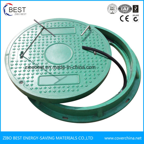 Composite Materials Manhole Cover with Screw Lock pictures & photos