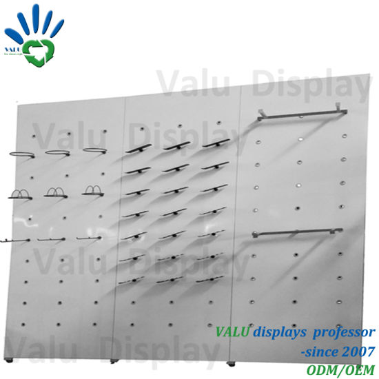 China Display Rack Wall Mounted Shoes Rack Shelf Shoes Display Rack