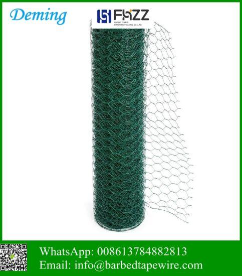 Heavy Galvanized Hexagonal Mesh Rabbit Netting Fence