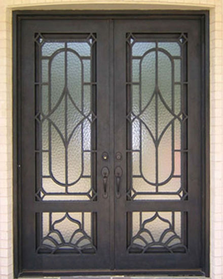 China Latest Nice Elegant Exterior Security Custom Entry Entry Door