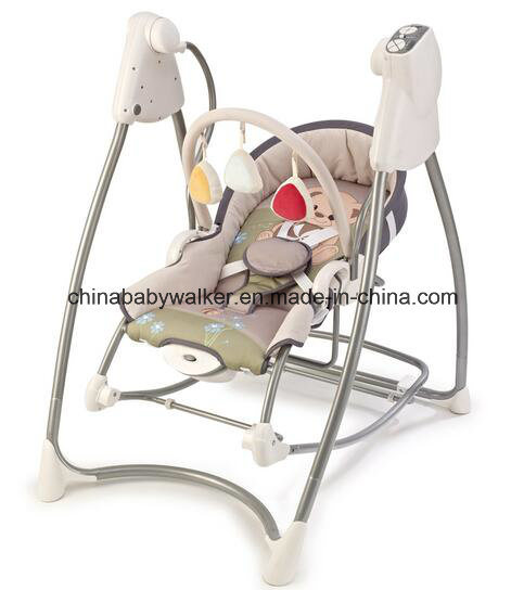 Canopy and Mosquito Net Baby Electric Swing