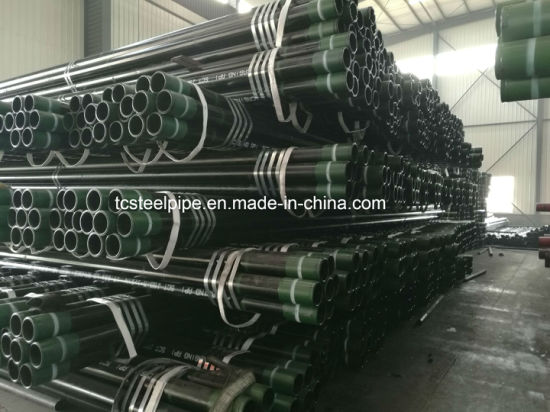 J55 K55 N80 N80q P110 Tubing Seamless Steel Pipe pictures & photos