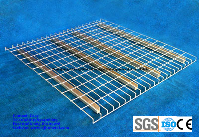 Galvanized Steel Wire Mesh Decking for Warehouse Pallet Rack pictures & photos