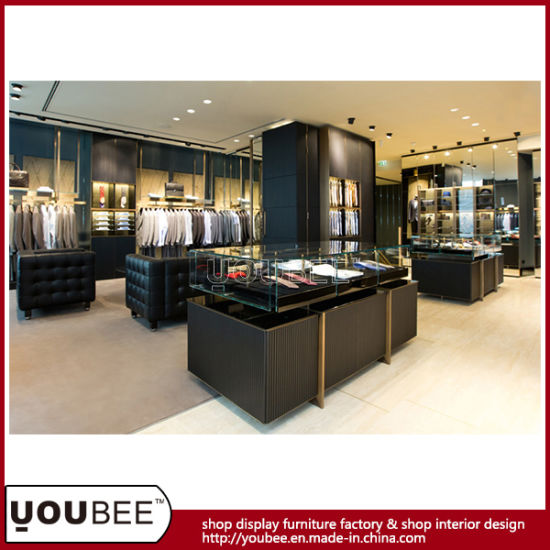 Boutique Shop Display Furniture For Luxury Menswear Shop Interior Classy Boutique Shop Design Decoration
