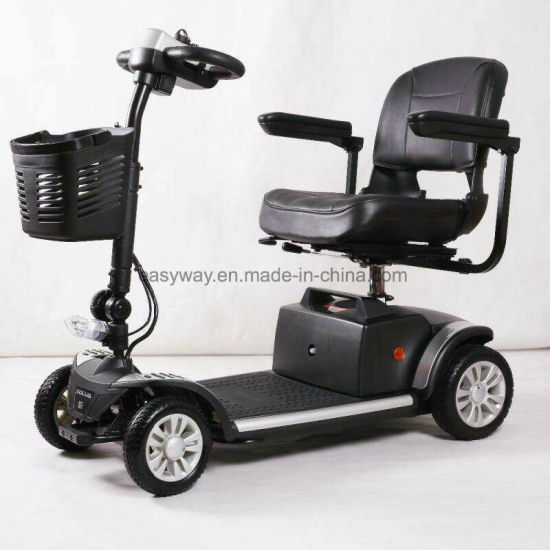 4-Wheel Small Size Mobility Scooter with Elegant Appearance
