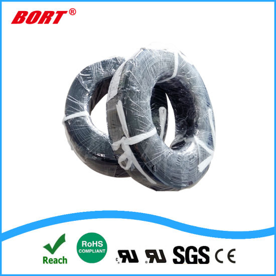 UL3239 Heat Resistant Electrical Coated Silicone Rubber Cable Wire