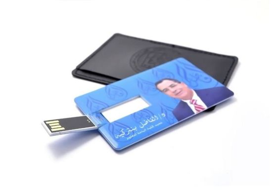 Custom Various Credit Card or Business Card USB with Logo pictures & photos