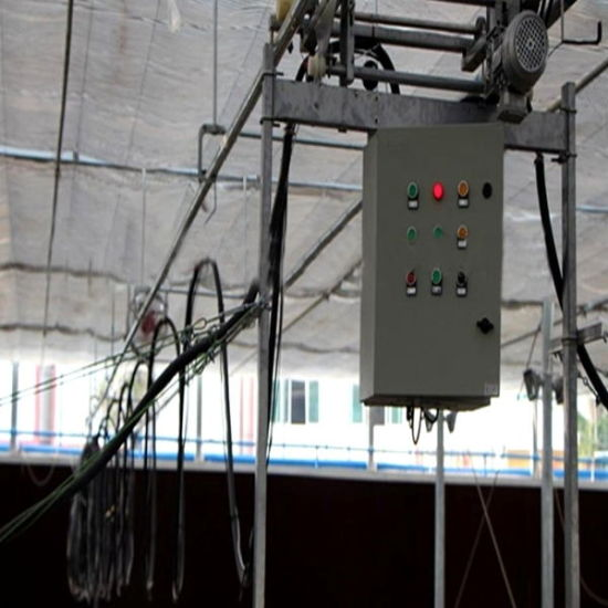 Auto Control Movable Sprinkler System for Greenhouse