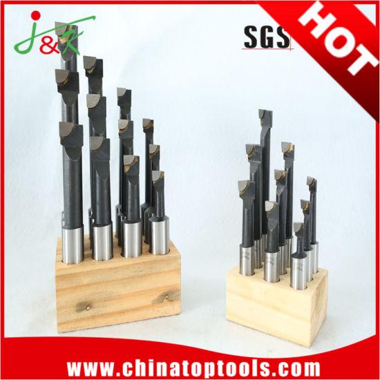 High Quality 6mm 8PCS/Set Wooden Stand Cobalt HSS Boring Bars