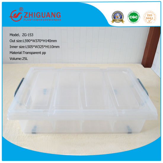 Plastic Storage Box, Shoes/Gift /Toys Box with Wheels