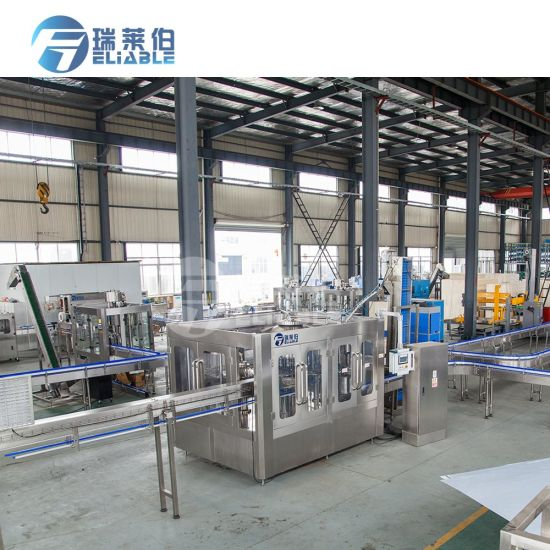 Wholesale Plastic Bottled Water Filling Machine Automatic Production Line