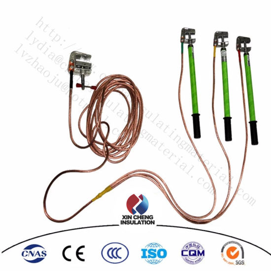 China Portable High Voltage Earthing Grounding Wire Earth ... on