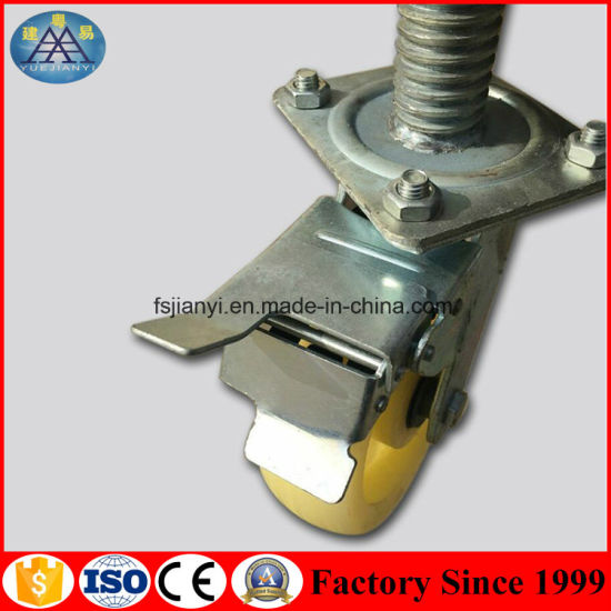 China Adjustable Aluminium Scaffolding Wheels pictures & photos