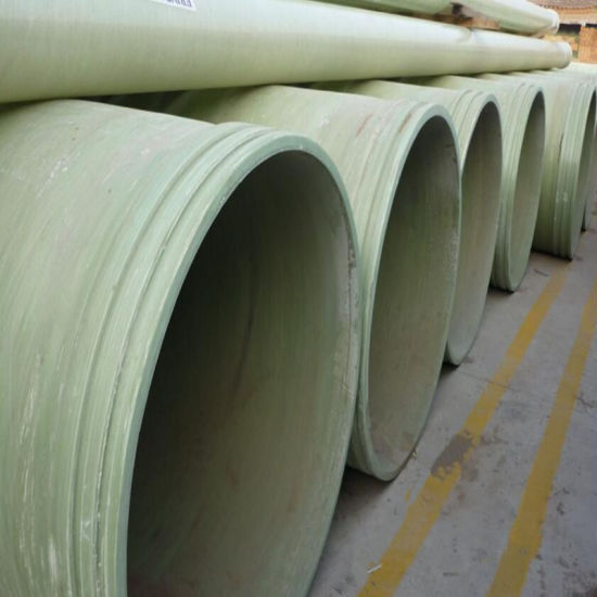 Long Service Life Fiberglass Reinforced GRP Pipes/ FRP Pipe pictures & photos
