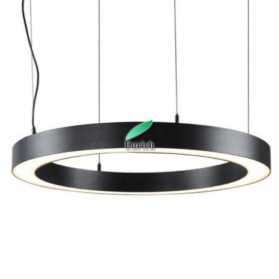 Profile Round Circular LED Pendant Light for Big Meeting Room