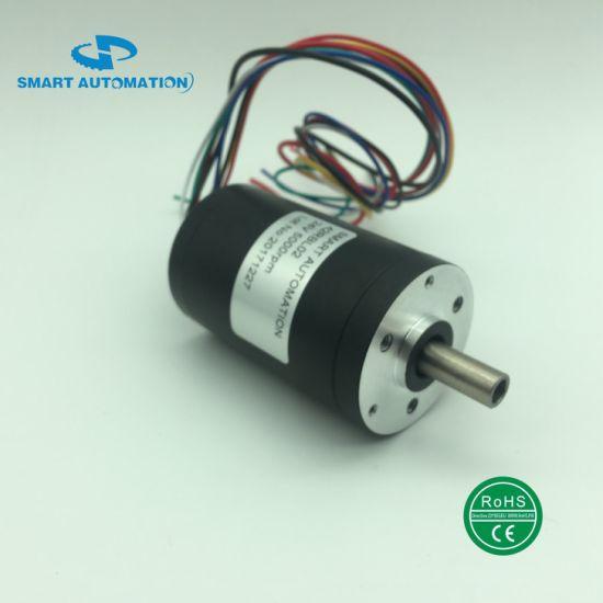 Dia. 42mm Hollow Shaft BLDC Motor Customed Shaft