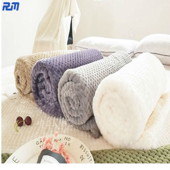 Portabale Gift for Kids Adults Breathable Polyester Fabric Carpet Flannel Blanket pictures & photos
