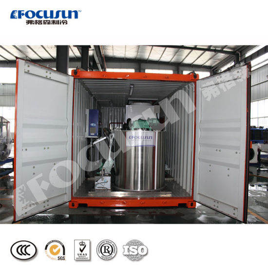 Focusun New 10t/Day Containerized Flake Ice Machine
