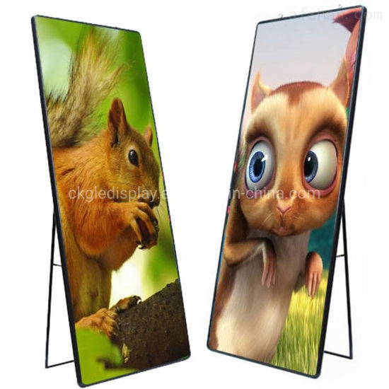 P2.5 P3 Indoor High Definition Rental LED Poster Display Screen for Advertising