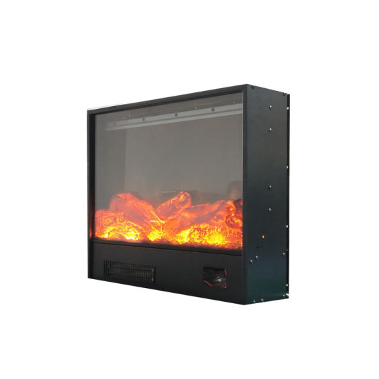 China Fireplace Insert Electric Stove Heater Led Artificial Flame