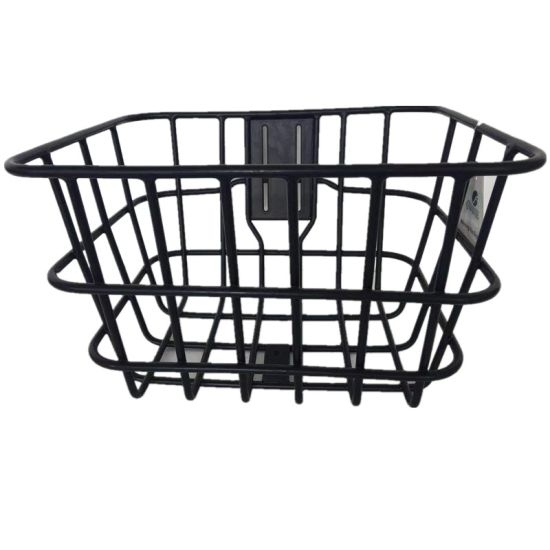 Front Steel Bicycle Basket Without Handle